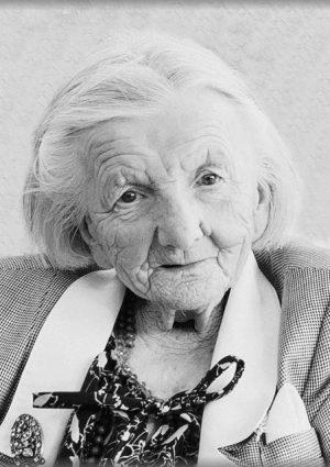 Portrait von Josefa Keiblinger