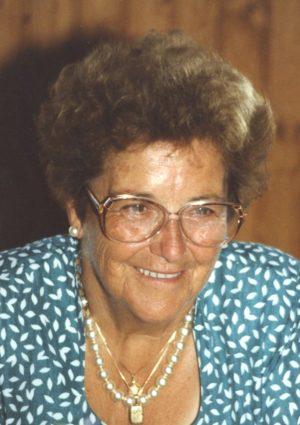 Portrait von Josefa Mayrhofer