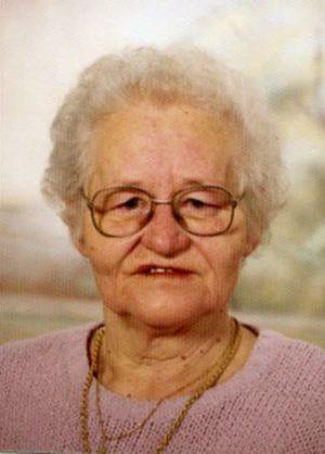 Portrait von Hermine Maresch