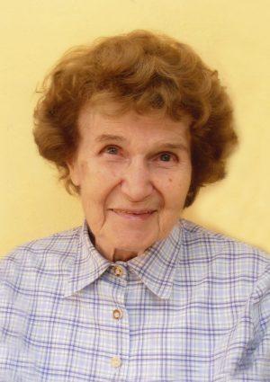 Portrait von Herta Berger
